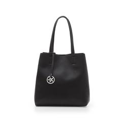 Maxi-bag nera in eco-pelle , Primadonna, 135786734EPNEROUNI, 001 preview