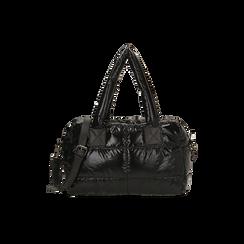 Sac noir duvet en tissu, Primadonna, 165122146TSNEROUNI, 001 preview