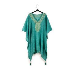 Caftán de tela verde, Primadonna, 150500006TSVERDUNI, 003 preview