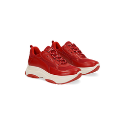 Sneakers dad shoes  rosse , Scarpe, 12A718321EPROSS, 002 preview