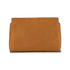Pochette marrone in microfibra, Borse, 15D208516MFMARRUNI, 003 preview
