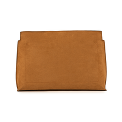 Pochette marron en microfibre, Sacs, 15D208516MFMARRUNI, 003