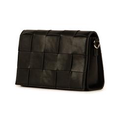 Bandoulière noir en simili-cuir, Sacs, 155701708EPNEROUNI, 004 preview
