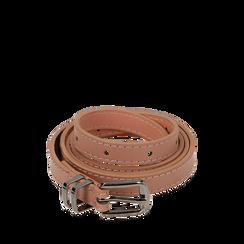 Cintura nude in eco-pelle, Abbigliamento, 144024454EPNUDEUNI, 001a