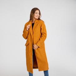 Cappotto lungo giallo lavorazione shearling, Abbigliamento, 12G750756TSGIAL, 004 preview