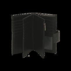 Portafogli nero, Borse, 155122158EPNEROUNI, 003 preview