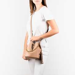 BAG SMALL BAG ECO-LEATHER BEIG, Bolsos, 152327401EPBEIGUNI, 002a
