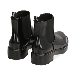 Botines Chelsea en color negro abrasivo, Primadonna, 160685073ABNERO036, 004 preview
