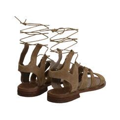 Sandalias gladiadoras de ante taupe, Primadonna, 178100348CMTAUP035, 003 preview