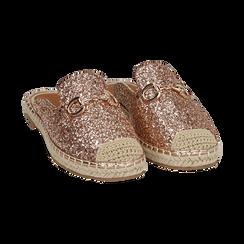 Slippers oro rosa glitter, Primadonna, 154951159GLRAOR036, 002 preview