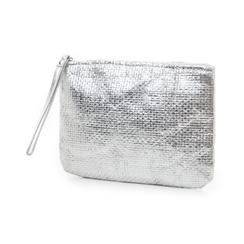 Pochette mare argento in paglia, Primadonna, 119061710PGARGEUNI, 004 preview