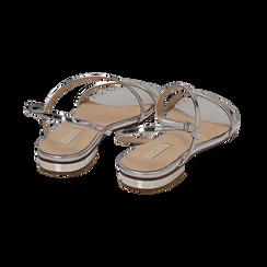 Sandali argento effetto mirror, Primadonna, 152722492SPARGE036, 004 preview