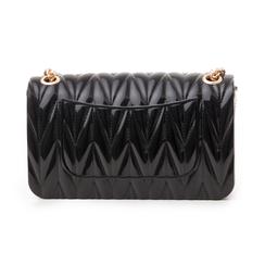 Mini-bag nera in pvc, Primadonna, 137409999PVNEROUNI, 003 preview