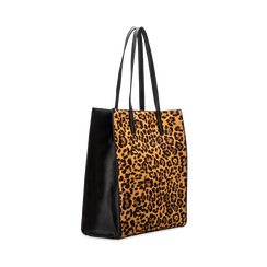 Borsa shopper leopard in microfibra, Borse, 122900004MFLEOPUNI, 003 preview