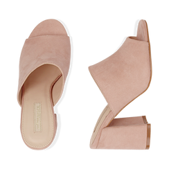WOMEN SHOES SLIPPER MICROFIBER NUDE, Chaussures, 154998161MFNUDE036, 003 preview