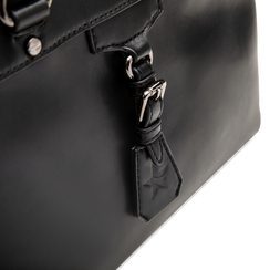 Mini-bag nera in ecopelle, Primadonna, 121818007EPNEROUNI, 004 preview