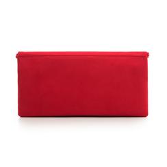 Pochette estensibile rossa in microfibra, Borse, 135700150MFROSSUNI, 003 preview