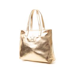 Maxi bag oro in laminato , Primadonna, 133764104LMOROGUNI, 004 preview