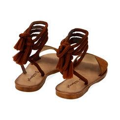 Sandales en daim cognac, Primadonna, 17A131486CMCOGN035, 003 preview