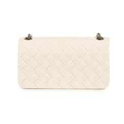 Mini-bag matelassé bianca in pvc, Borse, 15C809988PVBIANUNI, 003 preview