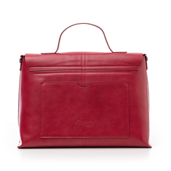 Borsa rossa in eco-pelle , Borse, 14D984150EPROSSUNI, 003 preview