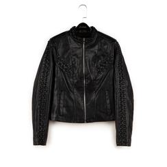 Biker jacket nera, Primadonna, 156516115EPNEROS, 003 preview