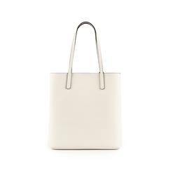 Shopper bianca in eco-pelle, Primadonna, 153782784EPBIANUNI, 003 preview