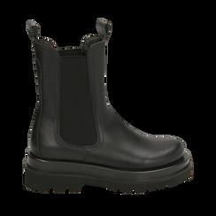 Bottes Chelsea noir, talon 5 cm, Primadonna, 167560723EPNERO036, 001a