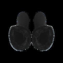 Stivali neri in microfibra, Stivaletti, 149901204MFNERO036, 004 preview