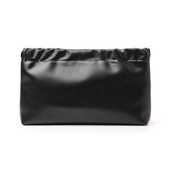Bustina nera in eco-pelle, Primadonna, 145122232EPNEROUNI, 003 preview