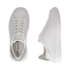 Baskets blanc / argent, Chaussures, 172602011EPBIAR035, 003 preview