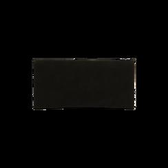 Portafoglio nero in microfibra scamosciata con 12 vani, Borse, 122200022MFNEROUNI, 002 preview