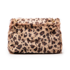 Borsa leopard in eco-fur, Borse, 141918834FULEMAUNI, 003 preview