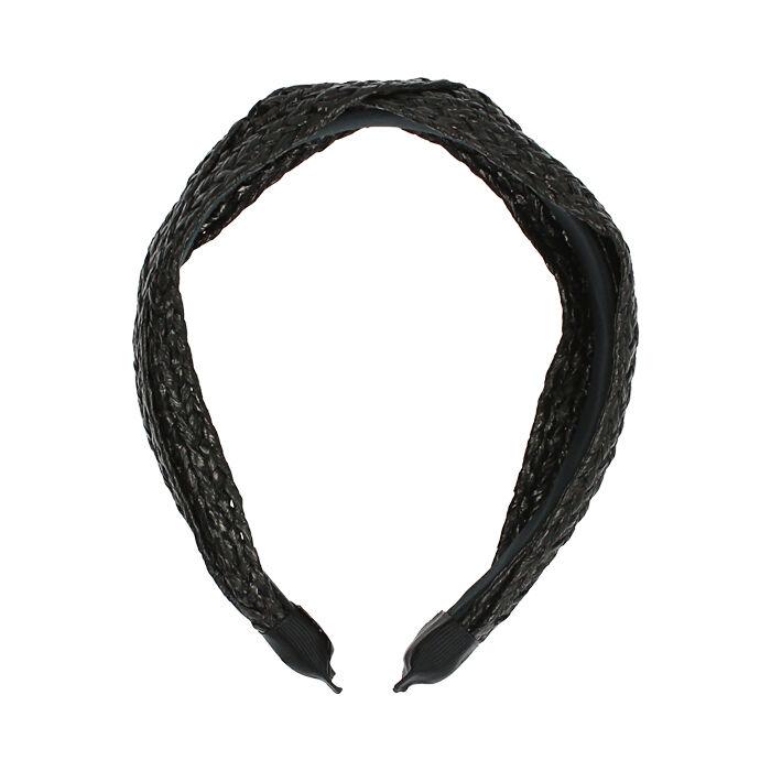 Bandeau noir en raphia , Primadonna, 17B301491RFNEROUNI