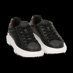 Sneakers nero/leopard , Primadonna, 162602011EPNELE036, 002 preview