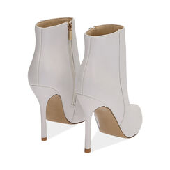 Ankle boots bianchi, tacco 11 cm, Primadonna, 172146816EPBIAN036, 004 preview
