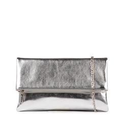 Pochette argento laminata, Primadonna, 155106452LMARGEUNI, 001a