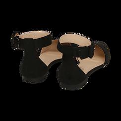 Bailarinas de microfibra en color negro, Primadonna, 154841142MFNERO036, 004 preview