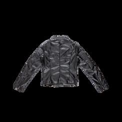 Giacca ecopelle corta nera, Abbigliamento, 126577302EPNEROL, 006 preview