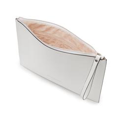 Pochette rettangolare bianca in eco-pelle, Borse, 133732356EPBIANUNI, 004 preview