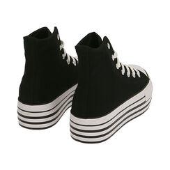 Sneakers nere in canvas, Primadonna, 172642103CANERO035, 004 preview