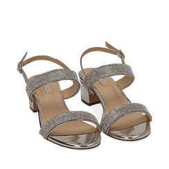 WOMEN SHOES SANDAL MIRROR ARGE, Chaussures, 154942401SPARGE035, 002a