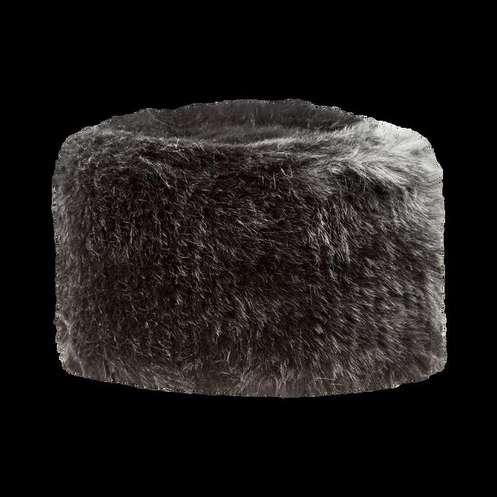 Colbacco nero in pelliccia, Saldi Abbigliamento, 12B413001FUNEROXXL
