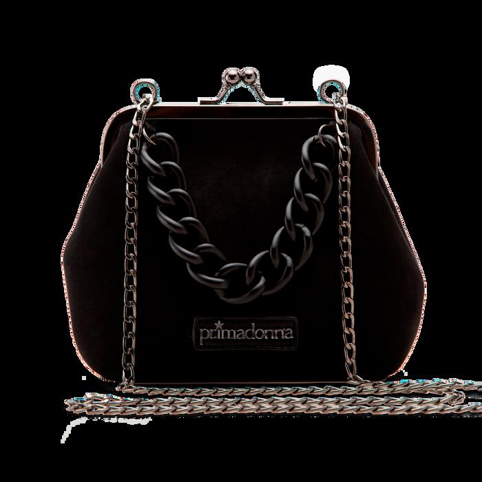 Pochette vintage in nero, Saldi Borse, 122701280MFNEROUNI