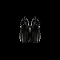 Décolleté nere in vernice con plateau, tacco 13,5 cm, Primadonna, 122103011VENERO, 003 preview