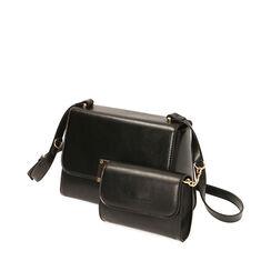 Double sac noir, Primadonna, 17D900108EPNEROUNI, 002a