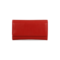 Portafoglio rosso in ecopelle, Saldi, 122200898EPROSSUNI, 001 preview