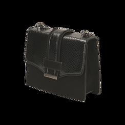 Petit sac noir imprimé vipère, Primadonna, 161918018EVNEROUNI, 002 preview