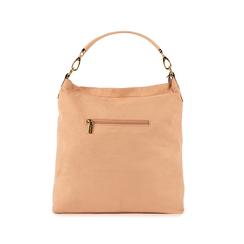 Maxi-bag nude in microfibra, Primadonna, 15D208513MFNUDEUNI, 003