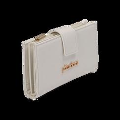 Portafogli bianco, Borse, 155122158EPBIANUNI, 002 preview